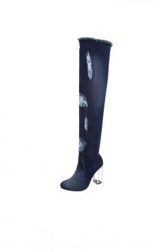 93da65b5fe7a Jeansové čizmy - Leilafashion.sk